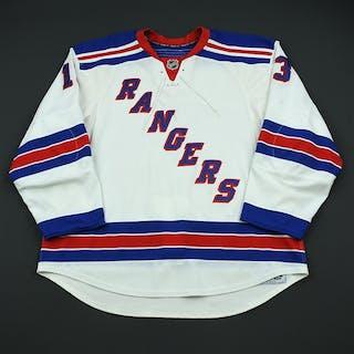 Zherdev, Nikolai White Set 3 / Playoffs New York Rangers 2008-09 #13 Size: 58