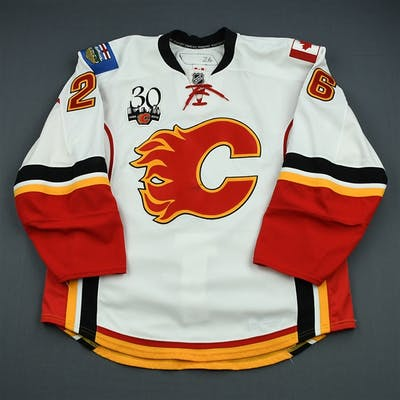 Kotalik, Ales White Set 3 Calgary Flames 2009-10 #26 Size: 56