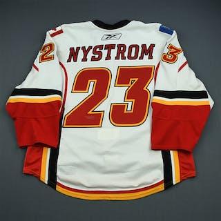 Nystrom, Eric White Set 1 Calgary Flames 2009-10 #23 Size: 56