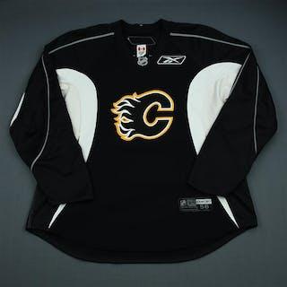 Reebok Black Practice Jersey Calgary Flames 2009-10 Size: 58