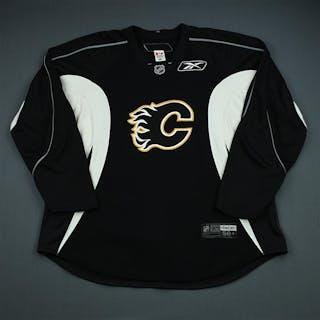 Reebok Black Practice Jersey Calgary Flames 2009-10 Size: 58+