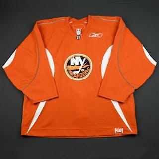 Reebok Edge Orange Practice Jersey New York Islanders 2006-07 # Size: 58
