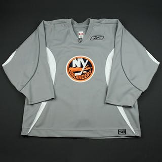 Reebok Edge Gray Practice Jersey New York Islanders 2006-07 # Size: 58