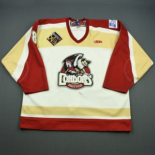 Hurley, Sean White Set 1 Bakersfield Condors 2008-09 #8 Size: 56
