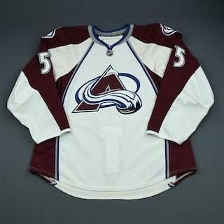 Clark, Brett White Set 1 w/ A Removed Colorado Avalanche 2009-10 #5 Size: 56