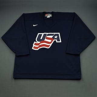 Gilbert, Tom * Blue, U.S. Olympic Men's Orientation Camp Issued Jersey