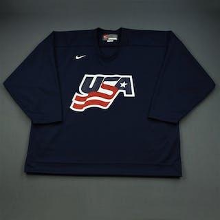 Komisarek, Mike * Blue, U.S. Olympic Men's Orientation Camp Issued