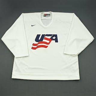Martin, Paul * White, U.S. Olympic Men's Orientation Camp Worn Jersey
