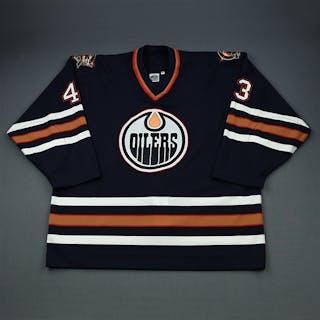 Volchkov, Alexandre Blue Set 1 Edmonton Oilers 2000-01 #43 Size: 58