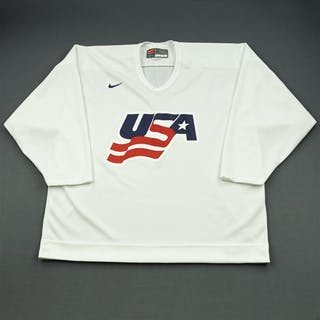 Ryan, Bobby * White, U.S. Olympic Men's Orientation Camp Issued Jersey