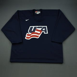 Scuderi, Rob * Blue, U.S. Olympic Men's Orientation Camp Issued Jersey