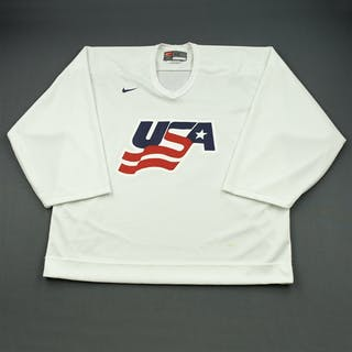Thomas, Tim * White, U.S. Olympic Men's Orientation Camp Issued Jersey