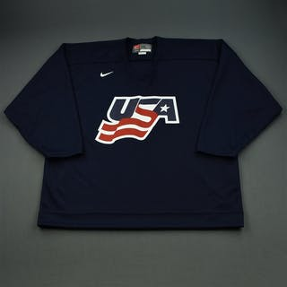 Whitney, Ryan * Blue, U.S. Olympic Men's Orientation Camp Issued Jersey