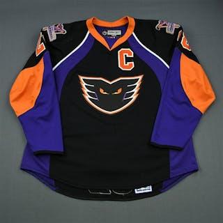 Kane, Boyd * Black Set 1 w/C, Signed Philadelphia Phantoms 2007-08 #28 Size: 58