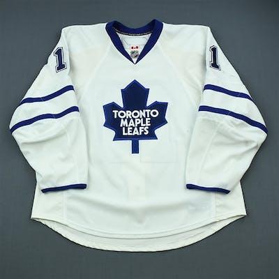 Sjostrom, Fredrik White Set 2 Toronto Maple Leafs 2009-10 #11 Size: 56