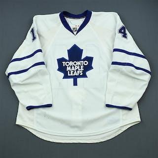 Stajan, Matt White Set 2 Toronto Maple Leafs 2009-10 #14 Size: 58