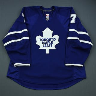 White, Ian Blue Set 2 Toronto Maple Leafs 2009-10 #7 Size: 56