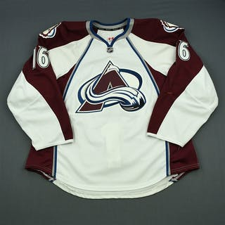 Sarich, Cory White Set 3 Colorado Avalanche 2013-14 #16 Size: 58