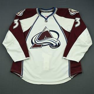 Stollery, Karl White Set 1 - NHL Debut Colorado Avalanche 2013-14 #3 Size: 56