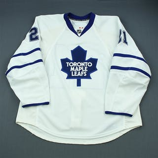Mayers, Jamal White Set 1 Toronto Maple Leafs 2009-10 #21 Size: 58