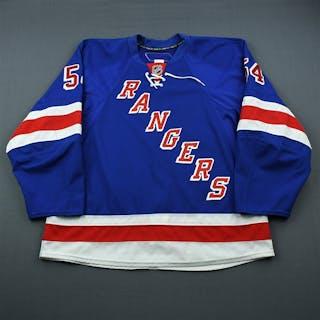 Sanguinetti, Bobby Blue Set 1 New York Rangers 2009-10 #54 Size: 56
