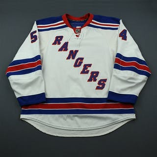 Sanguinetti, Bobby White Set 1 (NHL Debut) New York Rangers 2009-10
