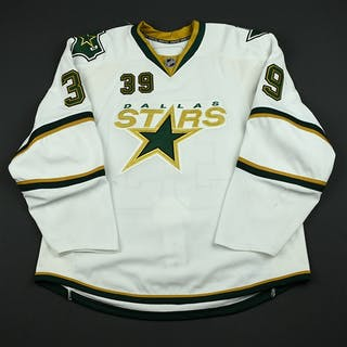 Lundqvist, Joel White Set 2 Dallas Stars 2008-09 #39 Size: 58