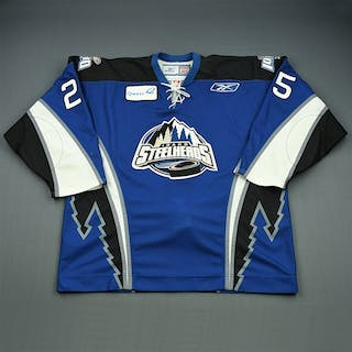 Stephenson, Matt Blue Set 1 Idaho Steelheads 2008-09 #25 Size: 56