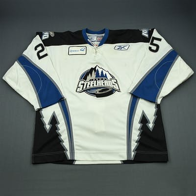 Stephenson, Matt White Set 1 Idaho Steelheads 2008-09 #25 Size: 56