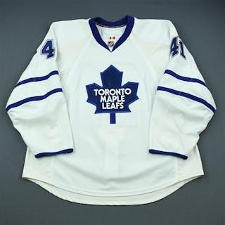 Kulemin, Nikolai White Set 1 Toronto Maple Leafs 2009-10 #41 Size: 58