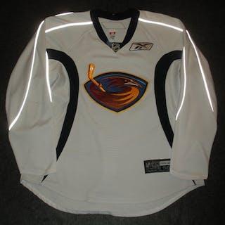 Havelid, Niclas White Practice Jersey Atlanta Thrashers 2007-08 #28 Size: 56