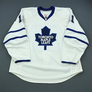 Tlusty, Jiri White Set 1 Toronto Maple Leafs 2009-10 #11 Size: 58