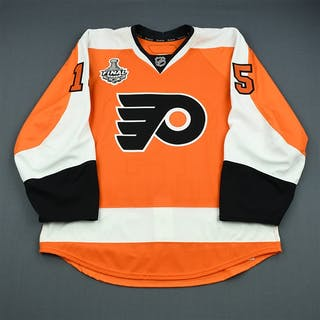 Nodl, Andreas Orange Game-Issued - Stanley Cup Final Philadelphia