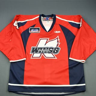 Friesen, Blake Red Set 1 Kalamazoo Wings 2009-10 #4 Size: 56