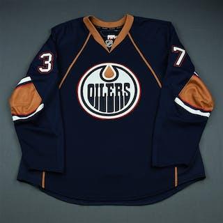 Grebeshkov, Denis Third Set 2 Edmonton Oilers 2009-10 #37 Size: 58