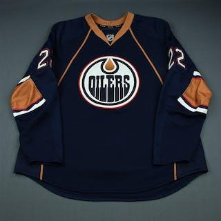 Jacques, Jean-Francois Third Set 2 Edmonton Oilers 2009-10 #22 Size: 58+
