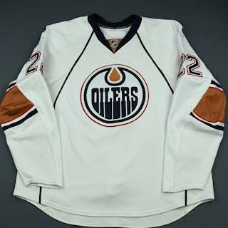 Jacques, Jean-Francois White Set 3 Edmonton Oilers 2009-10 #22 Size: 58+