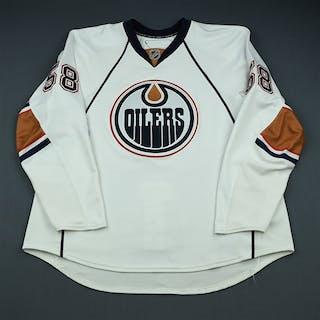 Motin, Johan White Set 3 (NHL Debut) Edmonton Oilers 2009-10 #58 Size: 58+