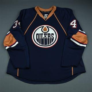 Pisani, Fernando Third Set 2 Edmonton Oilers 2009-10 #34 Size: 58