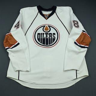 Plante, Alex White Set 2 Edmonton Oilers 2009-10 #48 Size: 58+