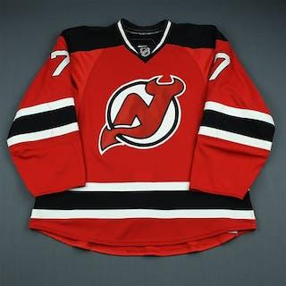 Martin, Paul Red Set 3 / Playoffs New Jersey Devils 2009-10 #7 Size: 56