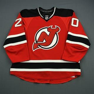 Pandolfo, Jay * Red Set 2 - Photo-Matched New Jersey Devils 2009-10