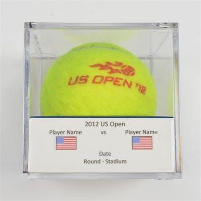 Maria Sharapova vs. Mallory Burdette Match-Used Ball - Round 3 - Arthur