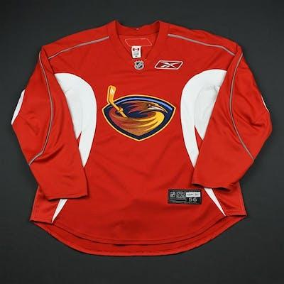 Reebok Edge Red Practice Jersey Atlanta Thrashers 2008-09 #N/A Size: 56