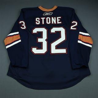 Stone, Ryan Third Set 2 Edmonton Oilers 2009-10 #32 Size: 58