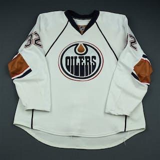 Stone, Ryan White Set 3 Edmonton Oilers 2009-10 #32 Size: 58