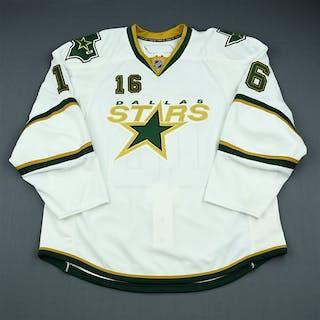 41155a1c5b2 NNOB White Set 1 - Game-Issued (GI) Dallas Stars 2009-10  16 Size  58