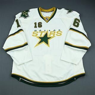 NNOB White Set 1 - Game-Issued (GI) Dallas Stars 2009-10 #16 Size: 58