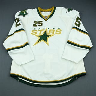 Peters, Warren White Set 1 Dallas Stars 2009-10 #25 Size: 58