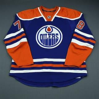 Pouliot, Marc Blue Retro Set 2 Edmonton Oilers 2009-10 #78 Size: 56